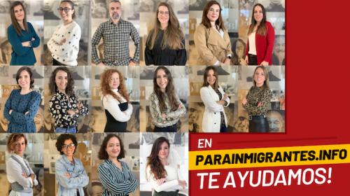 Parainmigrantes equipo