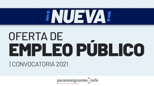 Nueva Oferta de Empleo Público 2021