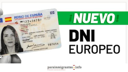 Nuevo DNI Europeo