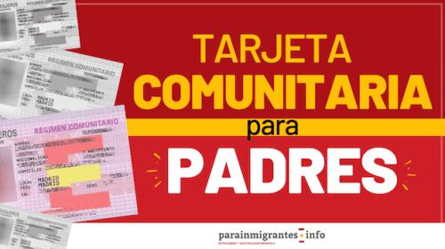Tarjeta Comunitaria para Padres