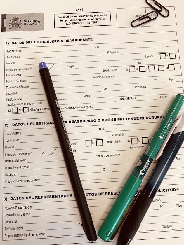 Renovación autorización reagrupación familiar