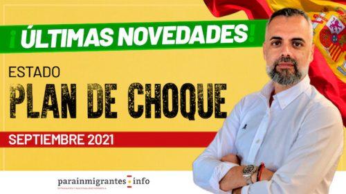 Estado Plan de Choque de Nacionalidad: Septiembre 2021