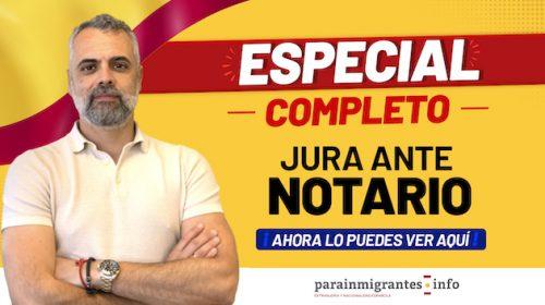 Seminario sobre la Jura de Nacionalidad ante Notario